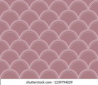 Vector abstract arabesque seamless pattern. Geometric classic background. Vintage art deco texture.