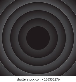 Vector abstract background with black rounds