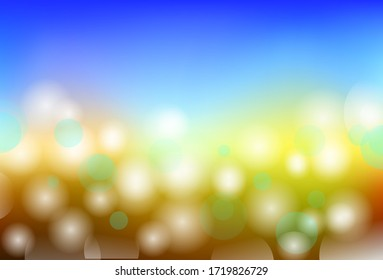 Vector abstract background with blur bokeh light effect. For your creative project design.