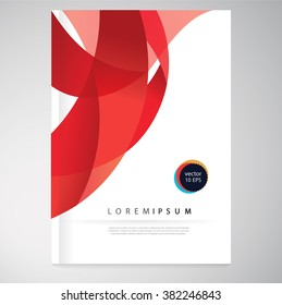Vector abstract background. Brochure, report, flyer,poster template. EPS 10