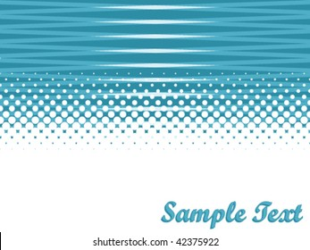 vector abstract background with copy space and halftone effect