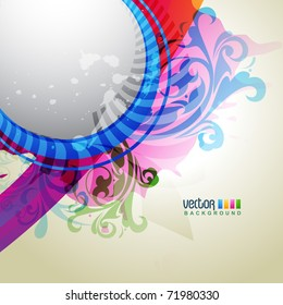 vector abstract background design illustration