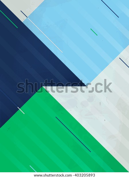 Vector Abstract Background. Grunge texture. Triangle geometric pattern