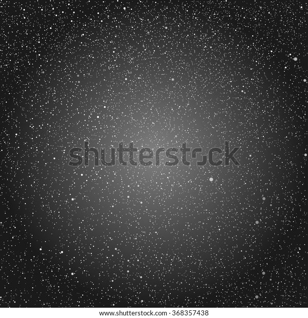 Vector Abstract Background Snowflakes Black Ice Stock Vector