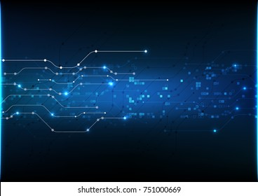 vector abstract background technology illustration communication data security