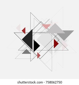 Vector abstract background texture design and shapes.
