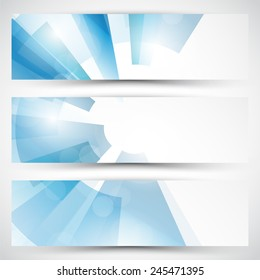 Vector abstract banner background. Eps 10 vector illustration.