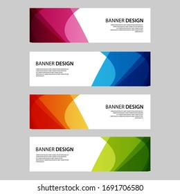 creative banner design images stock photos vectors shutterstock https www shutterstock com image vector vector abstract banner web template 1691706580