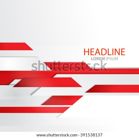 Vector abstract business background lines template stock vector vector abstract business background with lines template brochure design technology lines red modern wajeb Choice Image