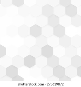 Vector abstract color 3d hexagonal. Background with hexagon element