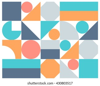 Vector abstract colorful geometric background, eps10