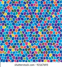 vector abstract colorful mosaic background