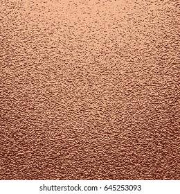 Vector abstract copper glitter mettallic background.