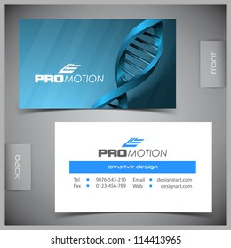 Blue glossy business card stock vectors images vector art vector abstract creative business cards set template reheart Images