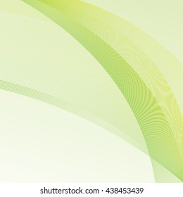 Vector Abstract curved lines background