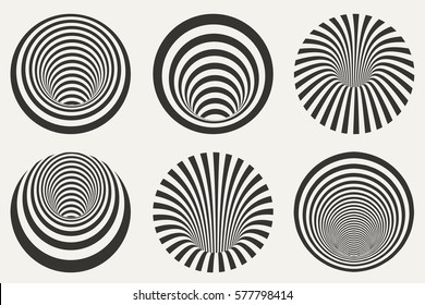 Vector abstract design elements.