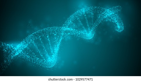 vector abstract element. scientific research and treatment of diseases. DNA