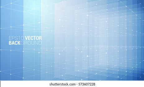 Vector Abstract futuristic background