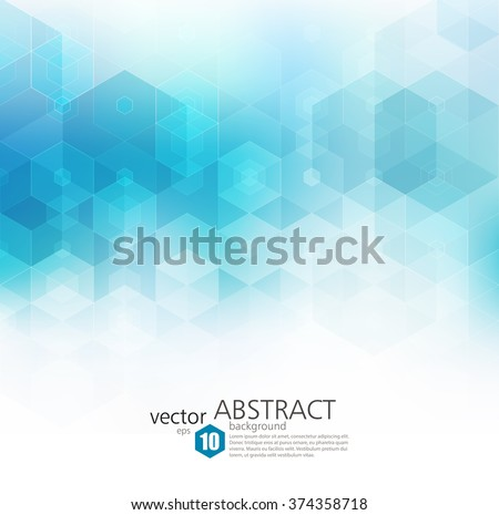 Vector Abstract Geometric Background Template Brochure Image