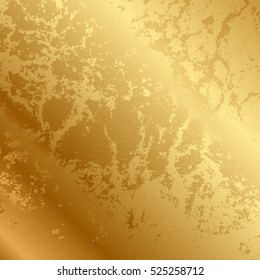 Vector abstract gold texture