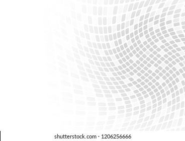 Vector : Abstract gray square on white background