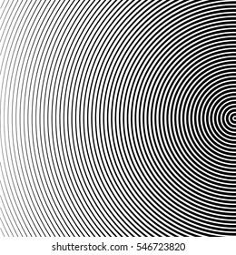 Vector abstract halftone black background. Gradient retro line pattern design. Monochrome graphic.