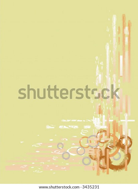 Vector abstract illustration of backgrounds with many shapes