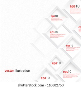 Vector Abstract illustration web design concept background design - eps10