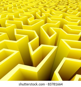 vector abstract labyrinth background