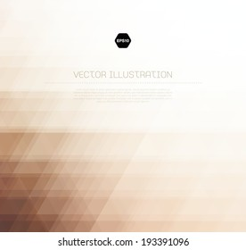 Vector abstract light beige background with subtle geometric texture
