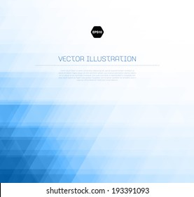 Vector abstract light blue background with subtle geometric texture
