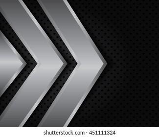 Vector of abstract metallic background .EPS10