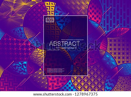 Vector Abstract Modern Background Wallpaper Site Stock Vector