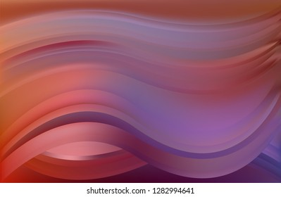 Vector of Abstract Modern and Wave Shape Background Template
