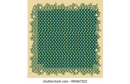 Amigurumi Pattern Net : Dog potholder or decor amigurumi pdf file by zabelina cp