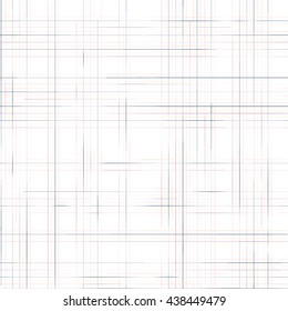 Vector abstract pattern with crossed lines on white background