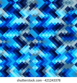 Vector abstract pixel background. EPS pattern.