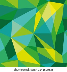Vector abstract polygonal colorful pattern. Seamless pattern can be used for wallpaper, pattern fills, web page background, surface textures.