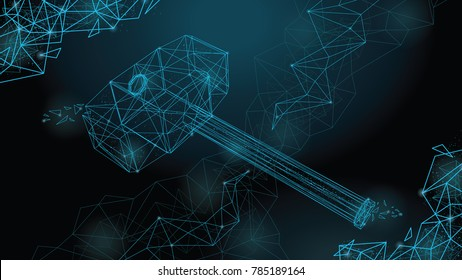 thor s hammer images stock photos vectors shutterstock