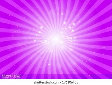 Vector abstract  purple star burst background illustration - Vector purple background  template illustration