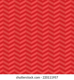 Vector abstract retro red chevron background