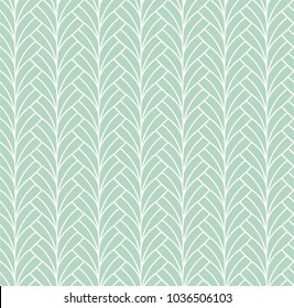 Vector Abstract Seamless Pattern. Art Deco Style Background. Geometric texture.