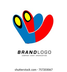 Vector Abstract and Simple Ethnic Logo Design