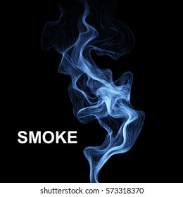 Vector abstract smoke background. Vector illustration