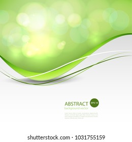 Vector Abstract smooth color wave background.Vector illustration eps 10