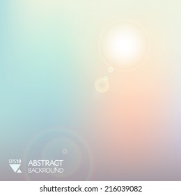 vector abstract sofl light morning backround