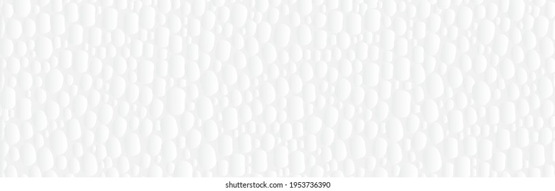 Vector abstract texture of  white styrofoam, polystyrene background.