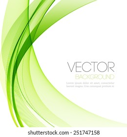 Vector Abstract transparent lines  background. Template brochure design