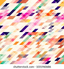 Vector abstract triangle texture pattern