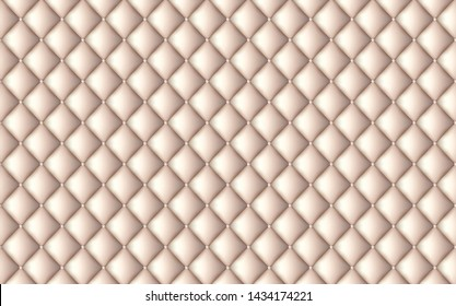 Vector abstract upholstery or beige leather texture sofa background